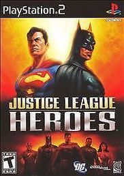 Justice League Heroes PS2