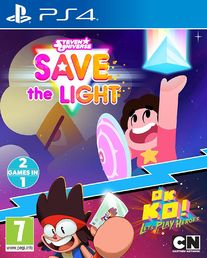 Steven Universe: Save the Light & OK K.O.! Lets Play Heroes PS4 kansikuva