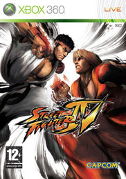 Street Fighter IV Xbox 360 kansikuva