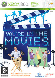 You´re in the Movies + kamera Xbox 360